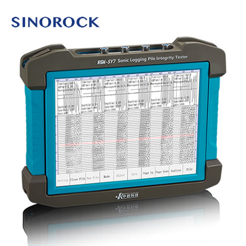 RSM-SY7 Ultra Sonic Pile Integrity Tester