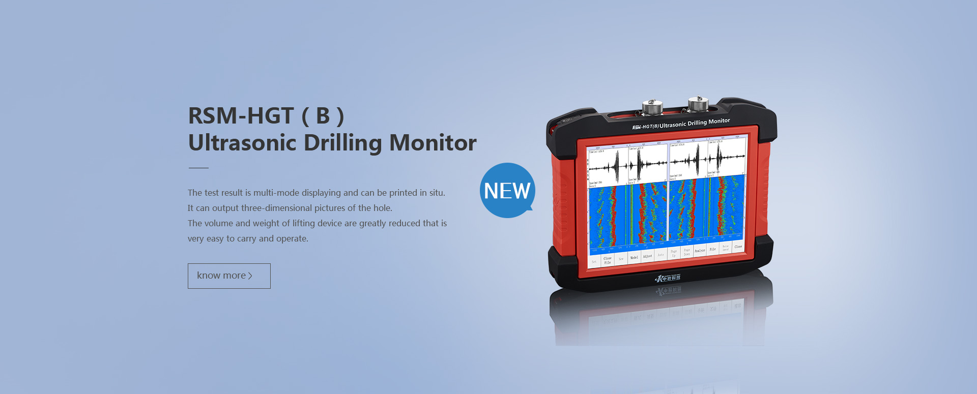 Ultrasonic Drilling Monitor