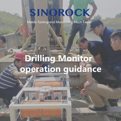 Drilling Monitor on site