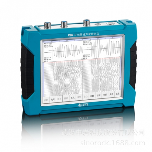 RSM-SY6 Ultra Sonic Pile Integrity Tester